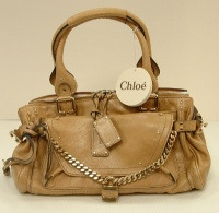 Chloè Women's Begie Leather Vanille Hund Bag