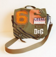 D&G UNISEX Military Shoulder Bag