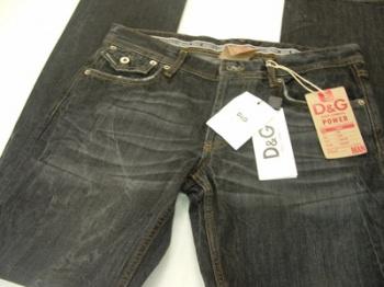 7ceba869fa Dolce Gabbana Men s BlacK Power D G Jeans