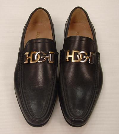 Dolce   Gabbana Scarpe Uomo Mocassino Pelle di Vitello Tubolare nero b173c90cbe9