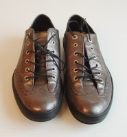 Emporio Armani Man Lamb Leather Sneaker Shoes