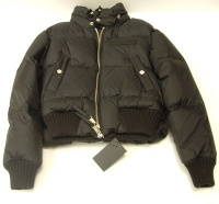 Jacket Woman's Dsquared Black Goose Down