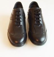 Tod's Man's Black Leather  Sneaker Shoes